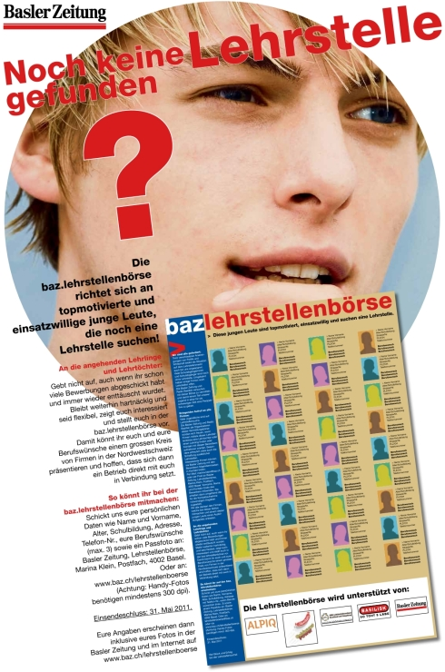 Lehrstellenboerse Basler Zeitung